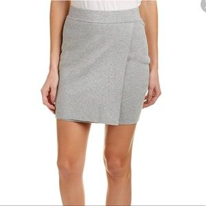 BCBGeneration Skirts - BCBGeneration Grey sweater Mini Skirt